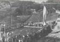 Bazeni në Stan Tërg  foto nga viti 1958 – bazeni i parë mbase jo vetëm në Kosovë por edhe ish-republikat tjera
