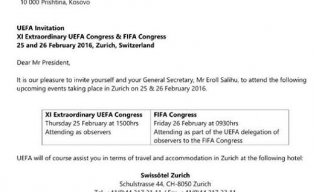 Vokrri e Salihu ftohen në Kongreset e UEFA-së dhe FIFA-së