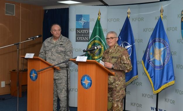 Komandanti suprem i NATO-s viziton shtabin qëndror të NATO-s në Kosovë
