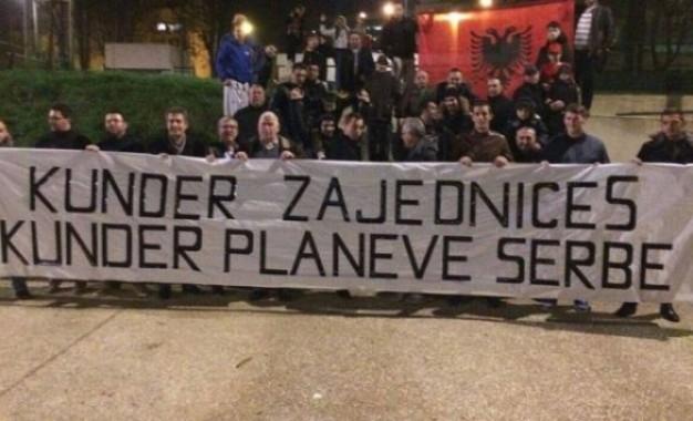 """Edhe shqiptarët e Francës kundër """"Zajednicës"""""""