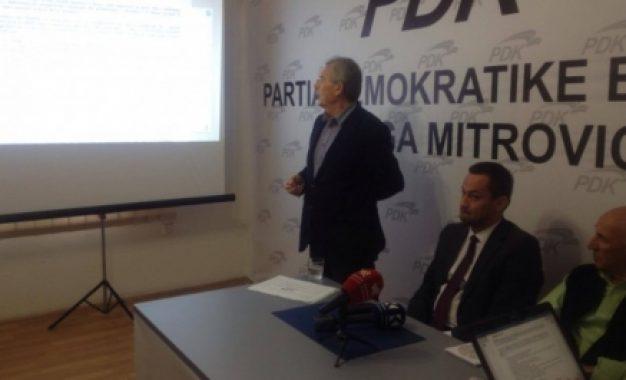 Avni Kastrati PDK Mitrovicë: Edhe 50 vjet në trojet shqiptare s'mund të ketë mashtrues si Agim Bahtiri
