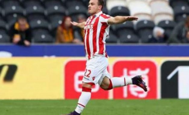 Xherdan Shaqiri shënon dy gola dhe shkatërron Hull Citin